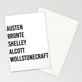 WOMEN OF CLASSICS (WHITE) Stationery Cards