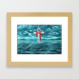 Never Thirst John 4:14 Framed Art Print
