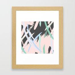 Expression stroke Framed Art Print