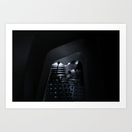 Doctor Who an the Dead Planet Daleks Art Print