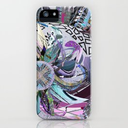 Manchester whirl iPhone Case