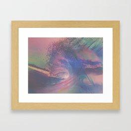 SURGE Framed Art Print