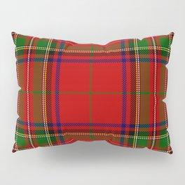 Red Tartan Plaid Pillow Sham
