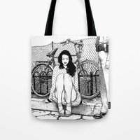 apollonia Tote Bags featuring asc 592 - L'amende honorable (A satisfactory apology) by From Apollonia with Love