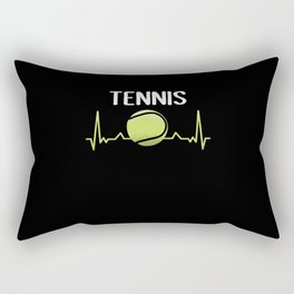 Tennis Love Rectangular Pillow