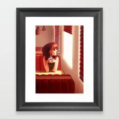 5pm Framed Art Print