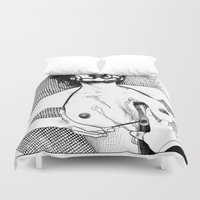 apollonia Duvet Covers featuring asc 617 - Les Libations II (Call upon Her name and she will answer) by From Apollonia with Love