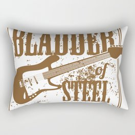 The bladder of steel Rectangular Pillow