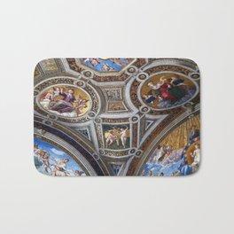 Edged Ceiling, Vatican City Bath Mat