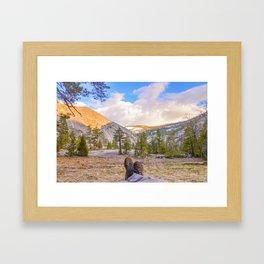 Little Yosemite Valley Framed Art Print