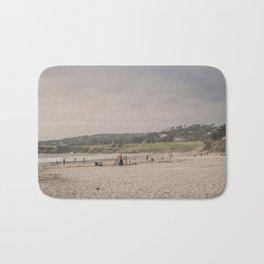 Carmel-by-the-sea beach Bath Mat