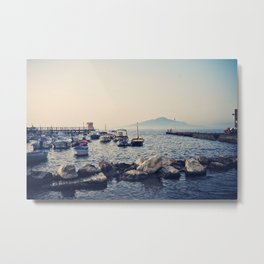 Sorrento Marina at Sunset  Metal Print