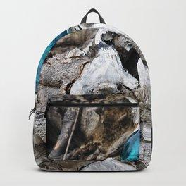 Newkowin Oregon - Ocean Driftwood Backpack