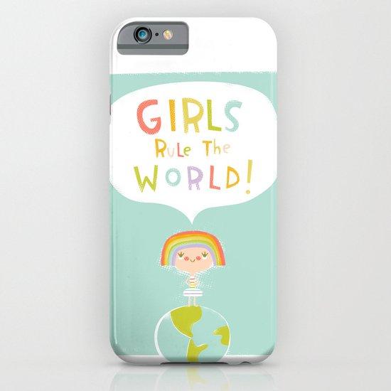 Girls Rule iPhone & iPod Case