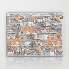 Paris toile cantaloupe Laptop & iPad Skin