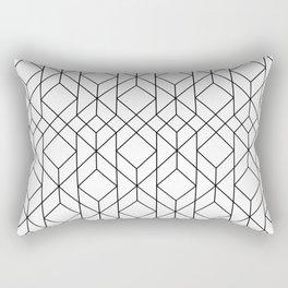 Art Deco Geometry 5 Rectangular Pillow