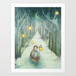 A river of dreams Art Print