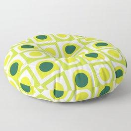 Geometric Pattern 210 (lime green) Floor Pillow