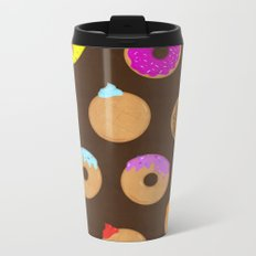Donuts Metal Travel Mug