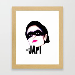 TOILET CLUB #japi Framed Art Print