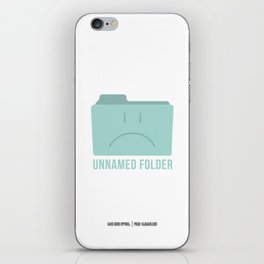 PAUSE – Unnamed Folder iPhone Skin