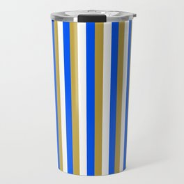 Team Colors 4... gold, blue,white Travel Mug