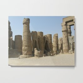 Temple of Luxor, no. 5 Metal Print