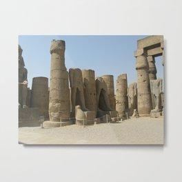 Temple of Luxor, no. 5 Metal Print