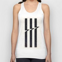 glitch Tank Tops featuring Glitch by Chad De Gris