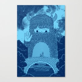 Hello Little Creature Canvas Print