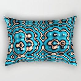 Bits and Blobs - Fractal Art Rectangular Pillow