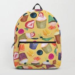 Exotic Cupcake Pattern Backpack