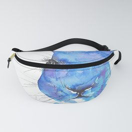 Blue Hare Fanny Pack