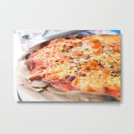 Pizza! Metal Print