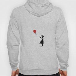 Banksy Girl with Ballooon reproduction Hoody