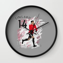 Jesse Lingard - Manchester United Wall Clock