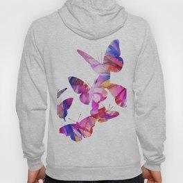 Pink Butterflies Hoody
