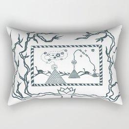 The Canvas of Eras Rectangular Pillow