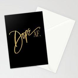 Dope AF. Stationery Cards