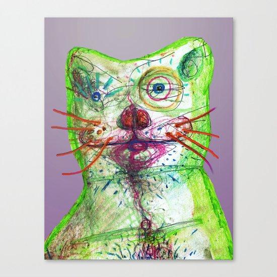 Dirty Bear Canvas Print