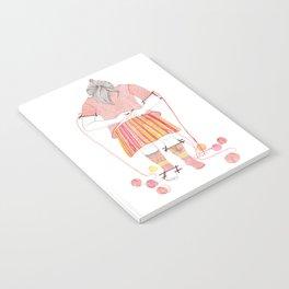 Knitster Girl Sweater & Socks Notebook
