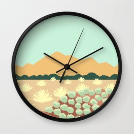 Santa Fe, New Mexico Wall Clock