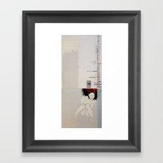 Slippery when wet Framed Art Print
