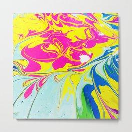 Ooh Swirly/// 3 Metal Print