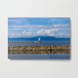 Lake Champlain. Burlington. Vermont. USA. Metal Print