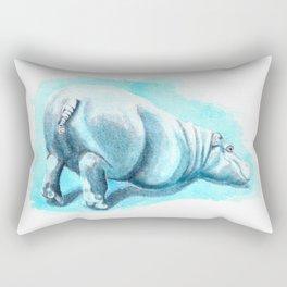 Bums-up Baby Hippo Fantasia Ballet Rectangular Pillow