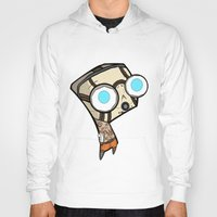 borderlands Hoodies featuring Borderlands Bandit GIR by Diffro