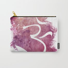 watercolor om 01 Carry-All Pouch