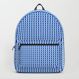 Blue Q Cube Brock Pattern Backpack