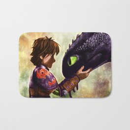 How to Train Your Dragon - Hiccup and Toothless Bath Mat